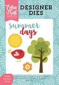 Summer Days Scene Die Set - Happy Summer - Echo Park