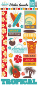 Island Paradise Sticker Sheet - Echo Park
