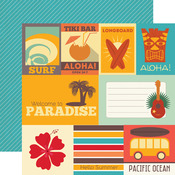 Journaling Cards Paper - Island Paradise - Echo Park