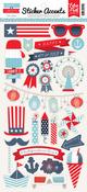 Sweet Liberty Sticker Sheet - Echo Park