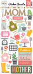 Beautiful Mom Sticker Sheet - Echo Park