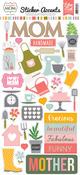 Beautiful Mom Sticker Sheet - Echo Park