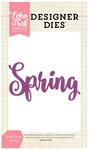 Spring Phrase Designer Die - Echo Park