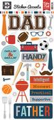 Team Dad Sticker Sheet - Echo Park