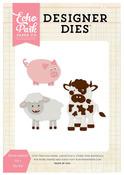 Farm Animals #1 Designer Die - Echo Park