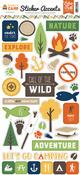 Summer Camp Sticker Sheet - Echo Park