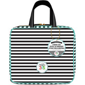 "Striped - Create 365 Planner Storage Case 12""X10.5""X4"""
