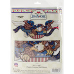 "9""X24"" 7 Count - Liberty & Justice Eagle Door Topper Plastic Canvas Kit"