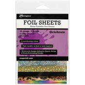 Celebrate - Ranger Shiny Transfer Foil Sheets 10/Pkg