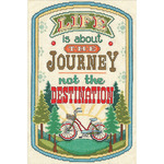 "8""X12"" 14 Count - The Journey Counted Cross Stitch Kit"