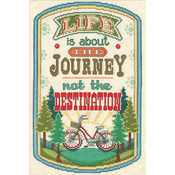 """8""""X12"""" 14 Count - The Journey Counted Cross Stitch Kit"""