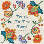 "10""X10"" 14 Count - Trust Counted Cross Stitch Kit"