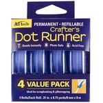 """.31""""X315"""" - Crafter's Permanent Dot Runner 4/Pkg"""