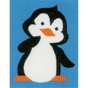 "5""X6.5"" - Penguin Plastic Canvas Kit"