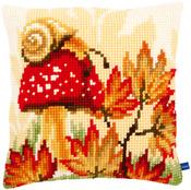 "16""X16"" - Autumn Scene Cushion Cross Stitch Kit"