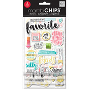 Favorite - Chipboard Value Pack