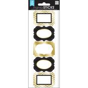 Posh Gold Foil - Label Stickers