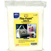 20 X60  - Flex-Foam Sew-In Stabilizer Pellon-Flex Foam Sew In Stabilizer. Offers lightweight stability and long-lasting body. It is easy to handle and easy to sew. Gives a professional look to all project types. Machine washable and dryer safe. 100% Polyester fabric outer and 100% polyurethane inner. This package contains one 60x20 inch roll of flex-foam stabilizer. Imported.