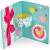Thinking Of You Sentiments Drop-Ins Card - Sizzix Thinlits Dies 14/Pkg By Stephanie Barnard