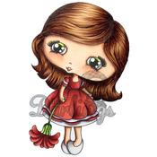 "Abby Lynne - Candibean Cling Stamp 4""X7"""