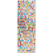 Multicolor - 6mm Gem Stickers
