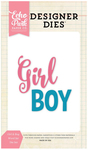 Girl Boy Words Designer Die - Echo Park