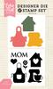 Mom Stamp & Die Set - Echo Park