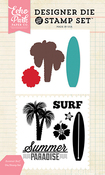 Summer Surf Stamp & Die Set - Echo Park