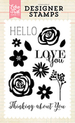 Thinking About You Stamp Set - Echo Park