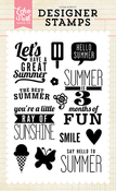 Ray Of Sunshine Stamp Set - Echo Park
