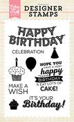 It's Your Birthday Stamp Set - Echo Park