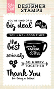 So Happy Together Stamp Set - Echo Park