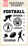 Football Touchdown Stamp Set - Echo Park