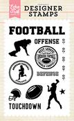 Football Touchdown Stamp Set - Echo Park