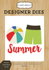 Summer Board Shorts Die Set - Carta Bella