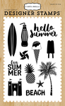 Summer Fun Clear Stamps - Carta Bella