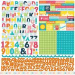 Summer Party Alpha Stickers - Echo Park