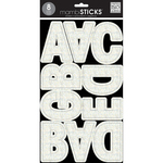 Ava Prisma White Glitter - Large Word Stickers