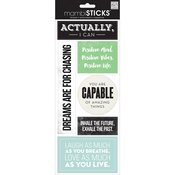 Actually I Can - Sayings Stickers