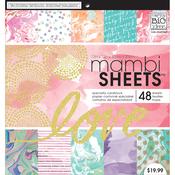 "Modern Marble - Mambi Paper Pad 12""X12"" 48/Pkg"