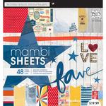"Americana - Mambi Paper Pad 12""X12"" 48/Pkg"