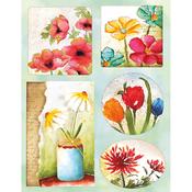 Gentle Blooms - Penny Black Stickers