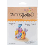 "Easter Bunny Chick - Stamping Bella Cling Stamp 6.5""X4.5"""