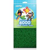 Dark Green - Mini Perler Beads 6,000/Pkg