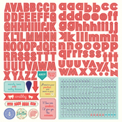 Nautical Bliss Alpha Stickers - Photoplay