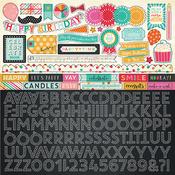 Party Time Alpha Sticker Sheet - Echo Park