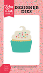 Frosted Cupcake Die Set - Party Time - Echo Park