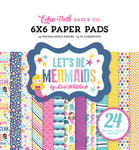 Let's Be Mermaids 6 x 6 Paper Pad - Echo Park
