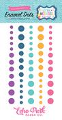 Let's Be Mermaids Glitter Enamel Dots - Echo Park