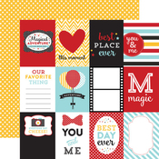 3X4 Journaling Cards Paper - Magical Adventure - Echo Park